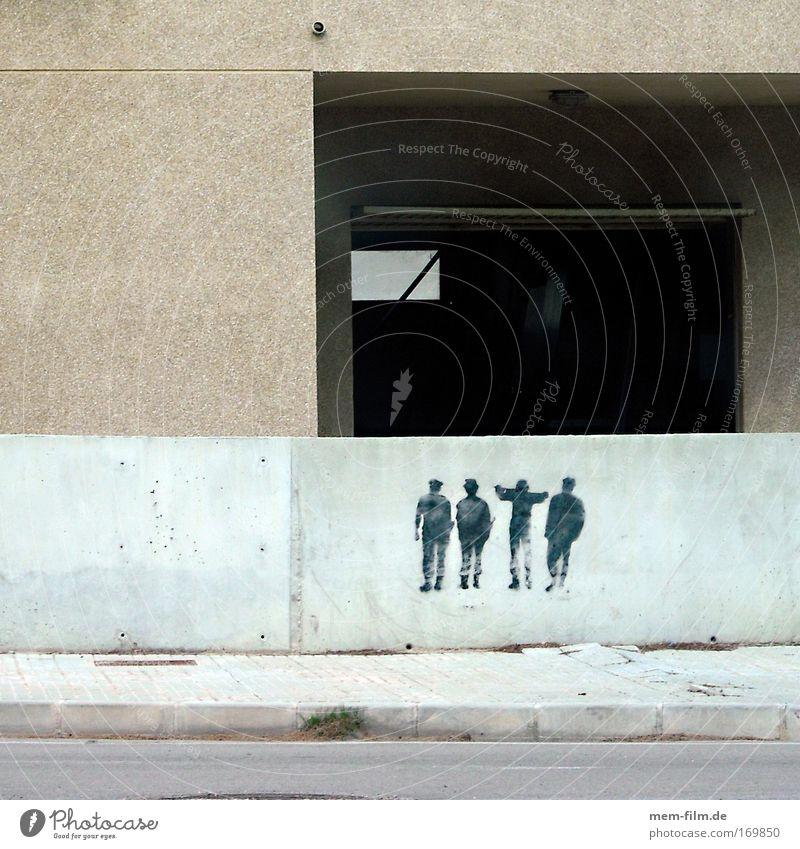 friends Concrete Graffiti Tagger Hip-hop Street art Art Figure crew possy Friendship Assembly Demonstration Majorca Spain