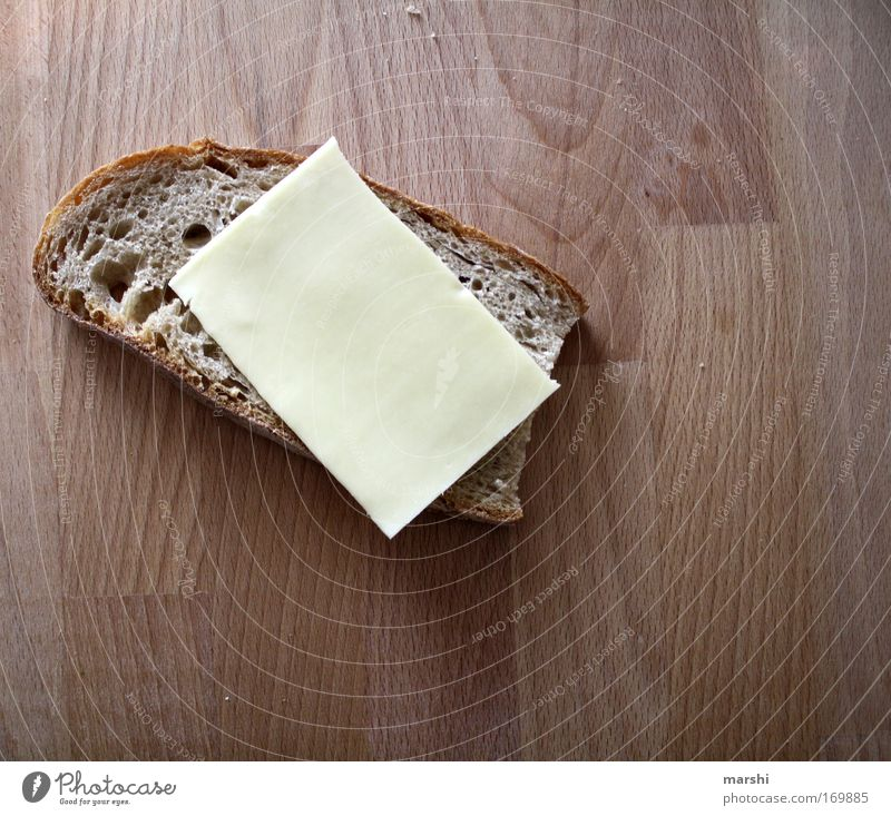 MAHLZEIT - I'm on a diet! Colour photo Food Cheese Bread Nutrition Breakfast Dinner Healthy Delicious Brown Yellow Emotions Moody Willpower Refrain Appetite