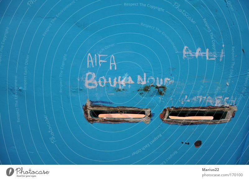 Street Wall (barrier) Characters Figure of speech Paris France Mailbox Slit Scribbles Name plate Reduplication
