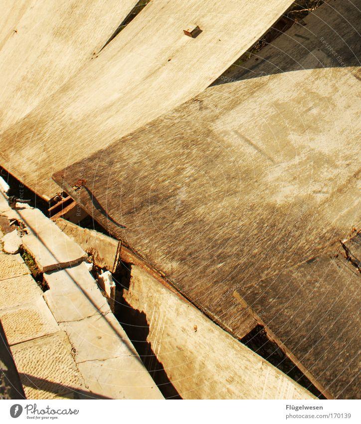 Old Architecture Stone Facade Concrete Living or residing Broken Construction site End Ruin Bizarre Claustrophobia Build Craftsperson Redecorate Hideous