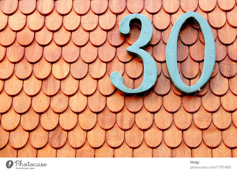 Old Blue Red House (Residential Structure) Wall (building) Building Wood Wall (barrier) Facade Arrangement Birthday Authentic Uniqueness Digits and numbers