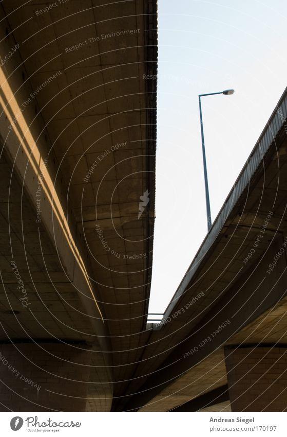 [Harusaki-DD] Carola. Colour photo Exterior shot Deserted Day Dresden Bridge Lantern Column Bridge construction Carola bridge Traffic infrastructure