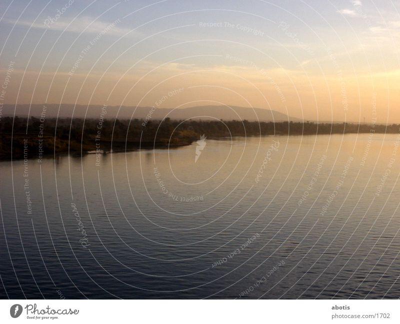 niel sun set River Niel Colour