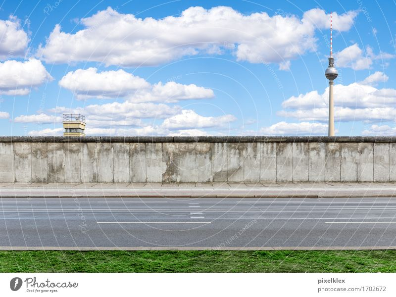 berlin wall Berlin Germany Town Capital city Downtown Tower Manmade structures Wall (barrier) Wall (building) Tourist Attraction Landmark Monument The Wall