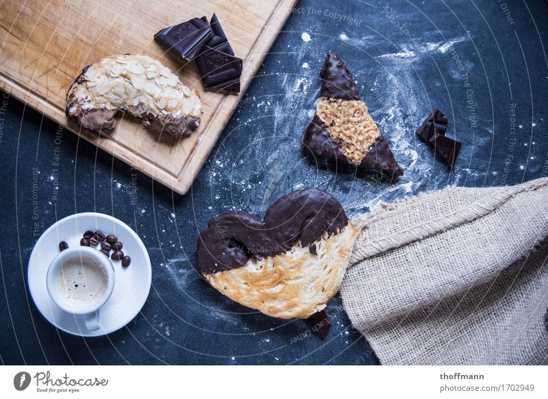 Healthy Eating Dish Food photograph Wood Nutrition Sweet Coffee Cloth Wooden board Café Cake Dessert Cup Baked goods Chocolate