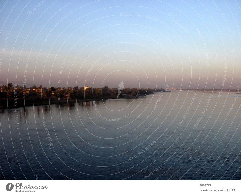 niel sun set 2 Evening River