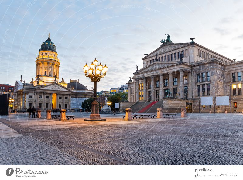 Gendarmenmarkt, Berlin Vacation & Travel Tourism Sightseeing City trip Culture Concert Opera house Germany Town Capital city Downtown Dome Places