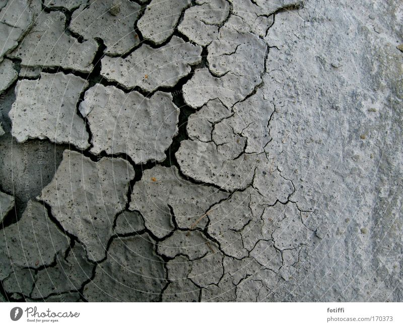 Nature Beautiful White Loneliness Gray Sand Earth Gloomy Dry Drought Thirst Badlands Exhaustion Cervice Rock formation Muddy