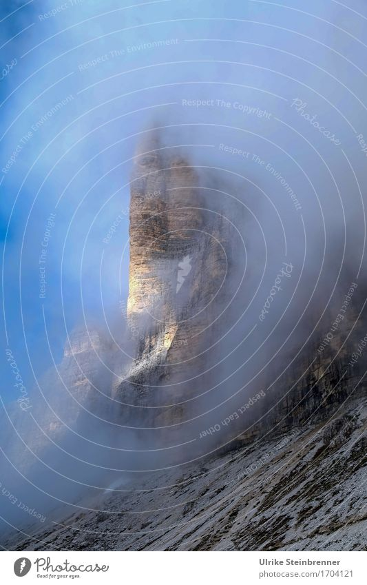 Sky Nature Vacation & Travel Blue Summer Landscape Mountain Environment Natural Gray Rock Tourism Fog Illuminate Hiking Trip