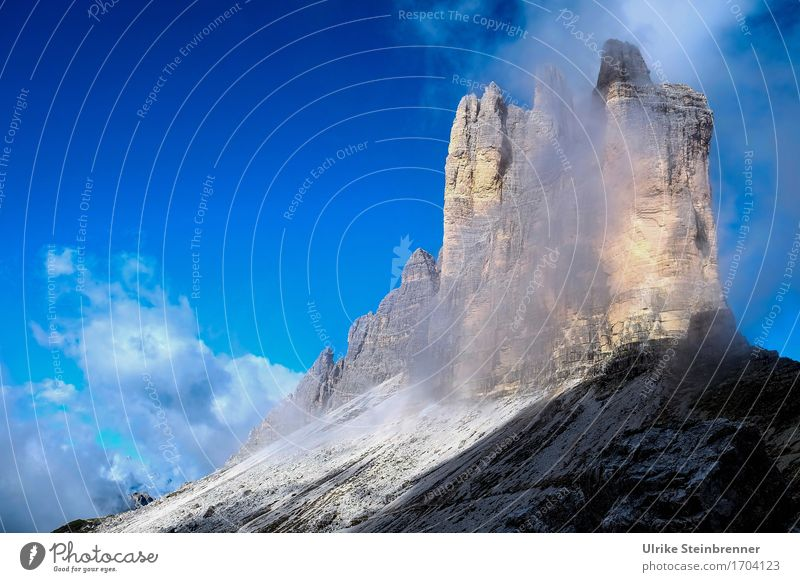 Three Peaks South Wall 3 Vacation & Travel Tourism Trip Adventure Summer Summer vacation Mountain Hiking Environment Nature Landscape Sky Clouds