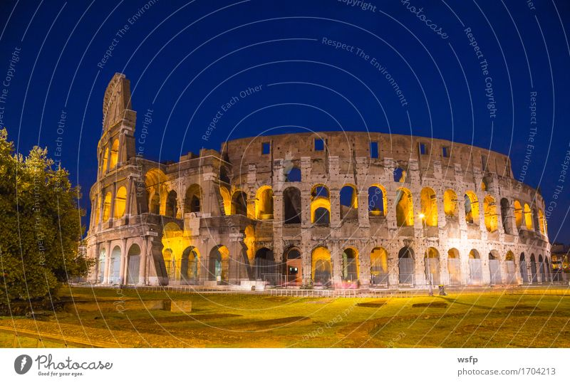 Architecture Lighting Tourism Italy Historic Castle Rome Colosseum Amphitheatre