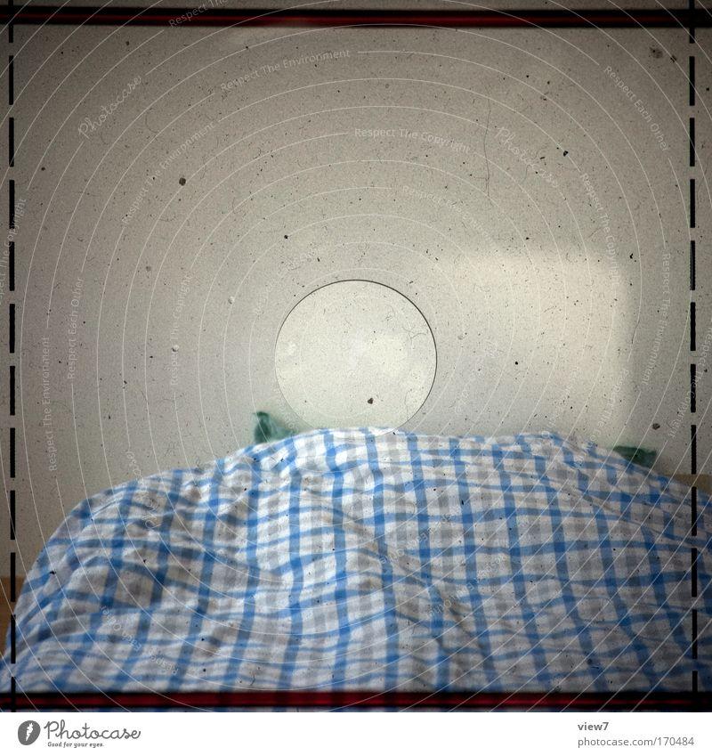 Old Blue Room Dirty Flat (apartment) Sleep Esthetic Retro Bed Authentic Simple Camera Trust Interior design Media Curiosity