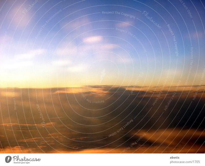 golden sky Clouds Sun