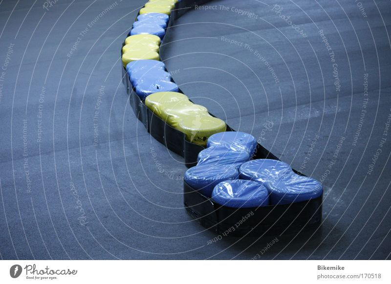 Blue Black Yellow Sports Esthetic Round Simple Leisure and hobbies Protection Racecourse Anticipation Motorsports