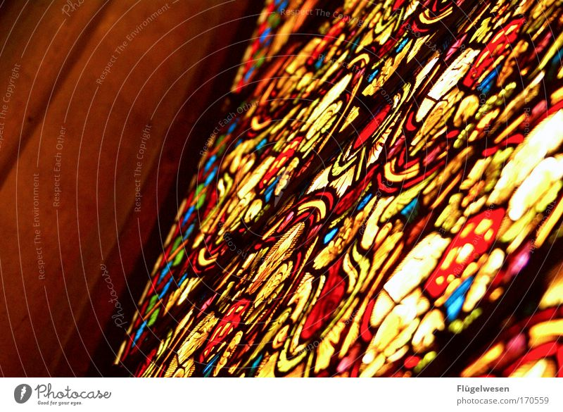 Beautiful Style Window Sand Art Architecture Glass Design Lifestyle Safety Cool (slang) Church Protection Culture Exceptional To enjoy