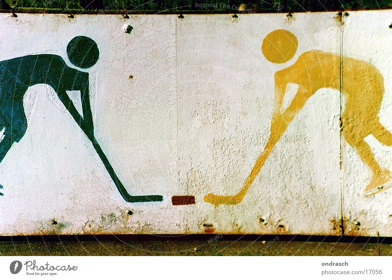 Sports Playing Ice Sports team Sign Symbols and metaphors Fight Piece Ice-skates Ice hockey