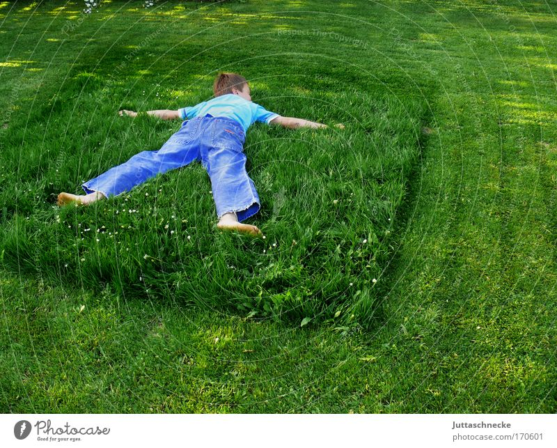 Child Nature Green Boy (child) Grass Garden Human being Environment Peace Harmonious Environmental protection Remainder Rescue Peaceful Outstretched