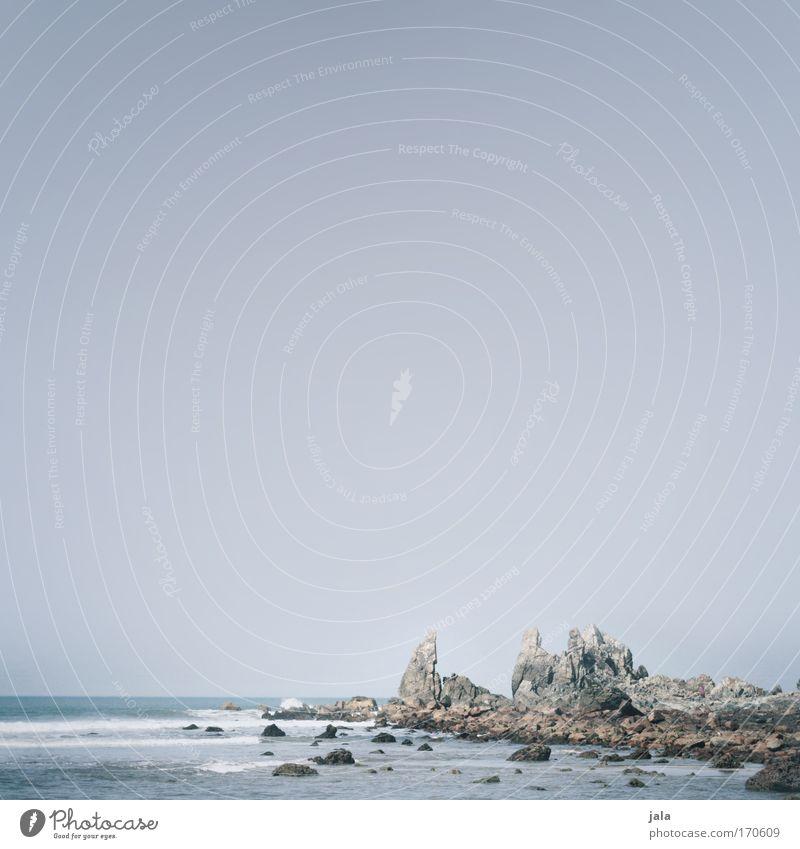 Sky Ocean Blue Landscape Waves Coast Rock Esthetic India Surf Cliff