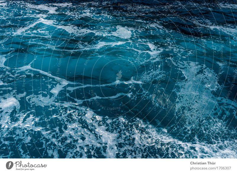 deep blue sea Life Harmonious Well-being Contentment Senses Relaxation Meditation Vacation & Travel Tourism Trip Adventure Far-off places Ocean Waves Aquatics