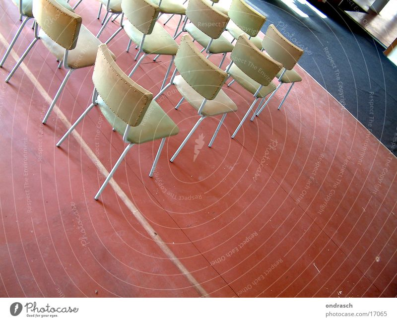 meeting Chair Meeting Speech Education Art Human being Row of seats Room Wait