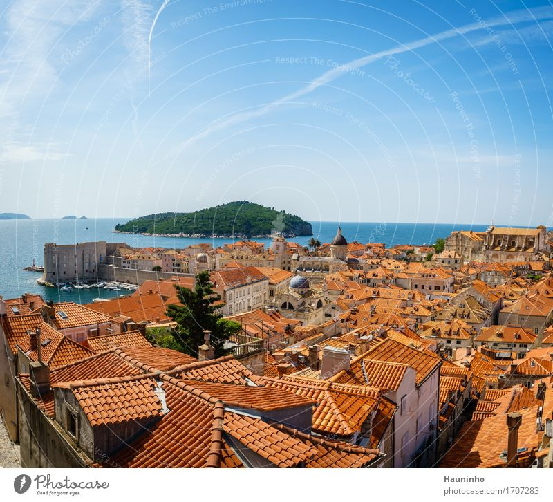 Dubrovnik IV Vacation & Travel Tourism Trip Sightseeing City trip Summer vacation Ocean Living or residing House (Residential Structure) Environment Nature Sky