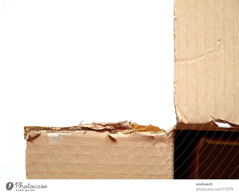 Open Paper Things Crack & Rip & Tear Cardboard Packaging