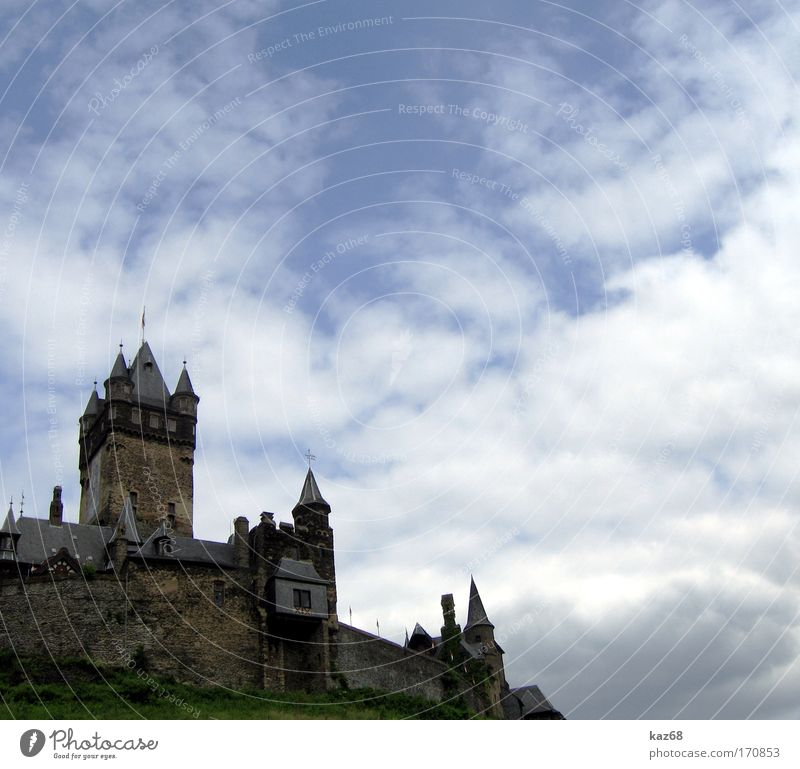 Sky Vacation & Travel Old Mountain Architecture Wall (barrier) Art Rock Germany Trip Vantage point Tower Historic Castle Museum Paying