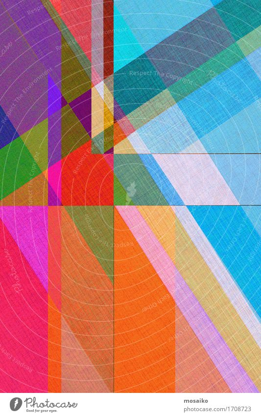abstract paper design Circus Esthetic Contentment Inspiration Creativity Fashion Modern Style Paper Rainbow Multicoloured Layer of paint Illustration Geometry