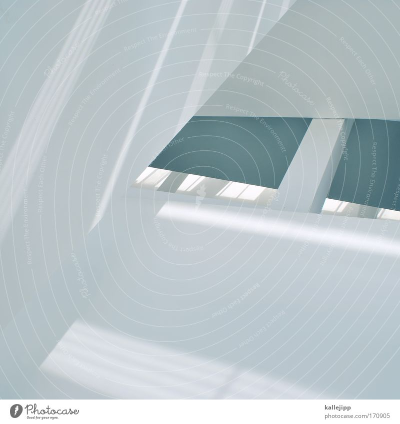 white stripes Colour photo Subdued colour Interior shot Abstract Day Sunlight High-key Worm's-eye view House (Residential Structure) Beautiful White Geometry