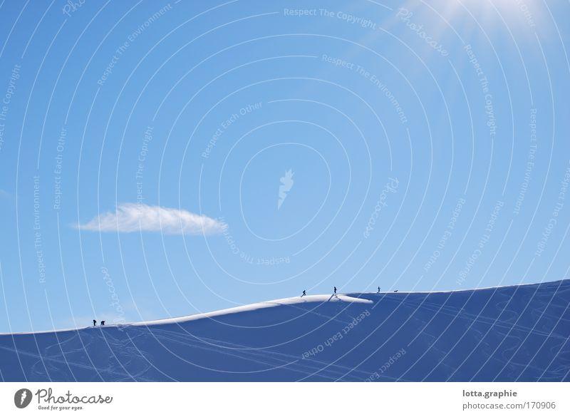 Sky Sun Snow Mountain Landscape Large Peak Snowcapped peak