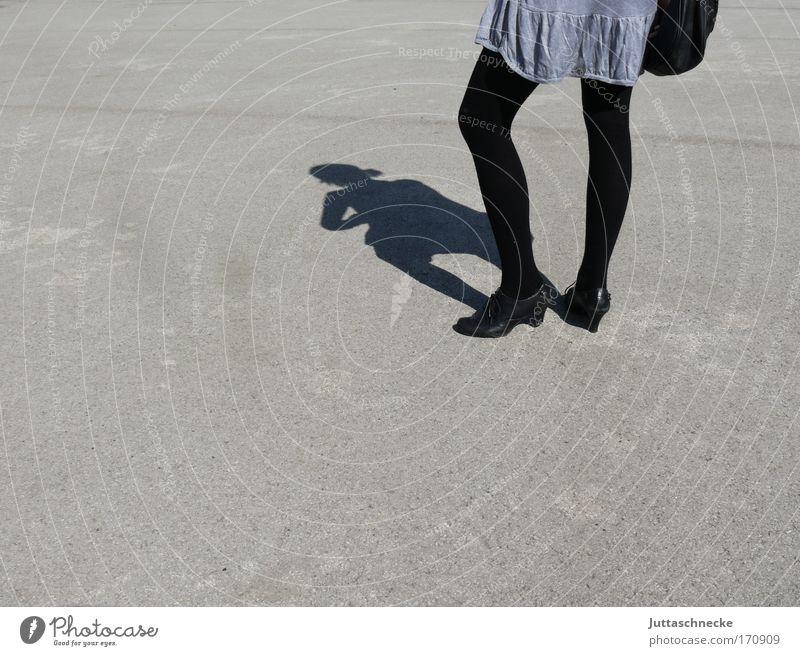 Woman Black Gray Footwear Stand Thin Stockings Mini skirt
