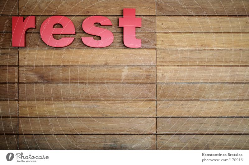 Red Wall (building) Wood Brown Characters Simple Plastic Firm Dry Advertising Remainder Wooden wall Thrifty Dull
