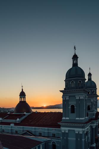 Nuestra Señora de la Asuncion | 3 Vacation & Travel Tourism Far-off places Freedom Sightseeing City trip Cruise Cloudless sky Sunrise Sunset Ocean Caribbean Sea