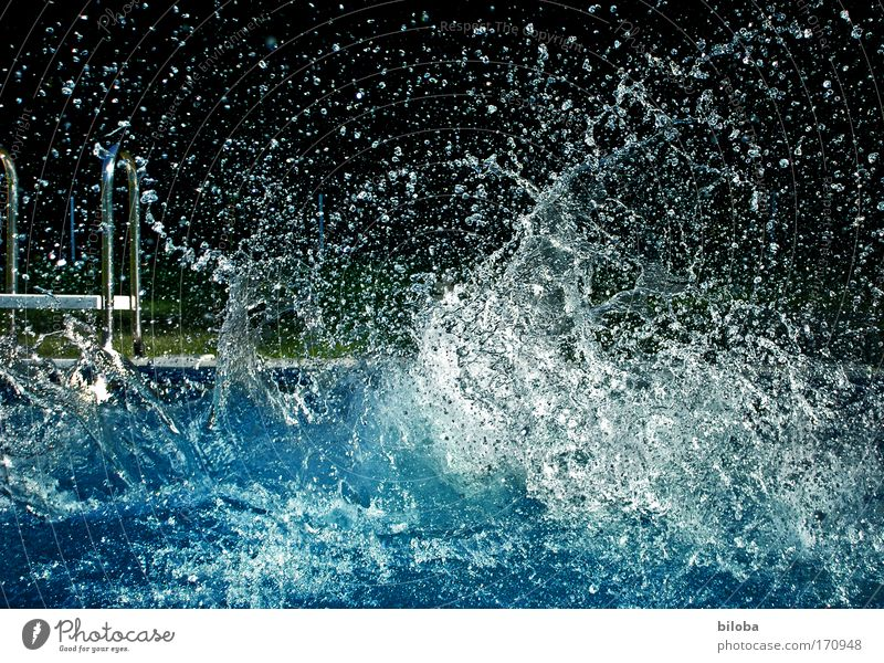 Water Summer Joy Happy Drops of water Lifestyle Fresh Dive Swimming & Bathing Refreshment Summer vacation Abstract Effervescent