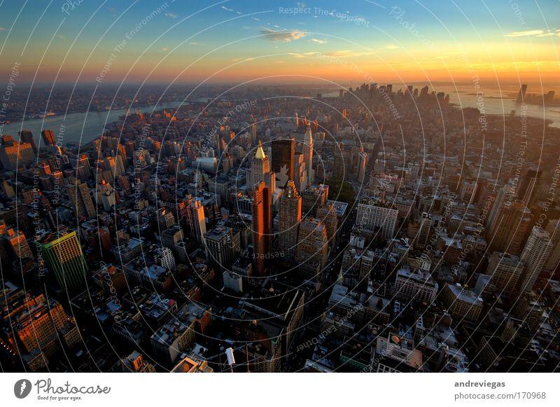 New York skyline High-rise USA City Skyline Society Americas New York City Overpopulated