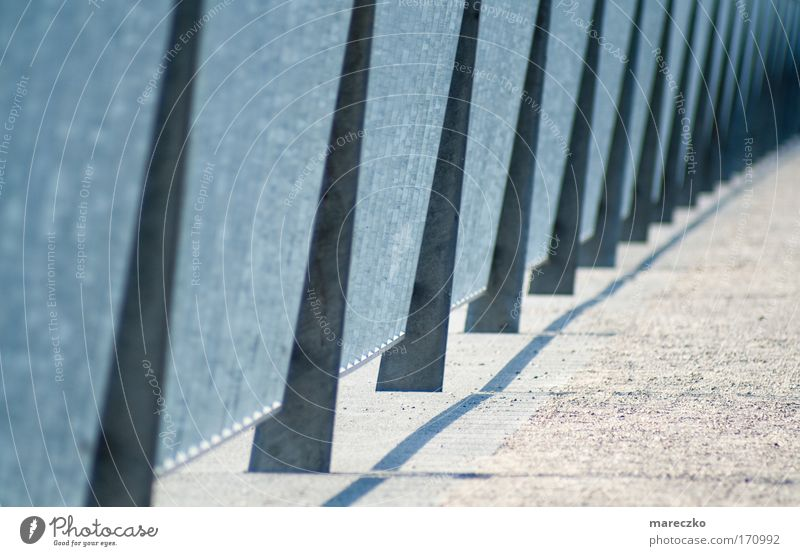 Cold Sand Metal Art Architecture Bridge Modern New Protection Harbour Firm Infinity Row Creativity Many