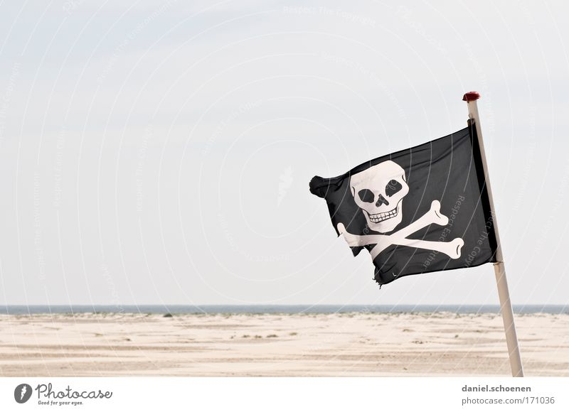 Ocean Beach Style Adventure Island Flag Sign Pride Competition Pirate Revolt