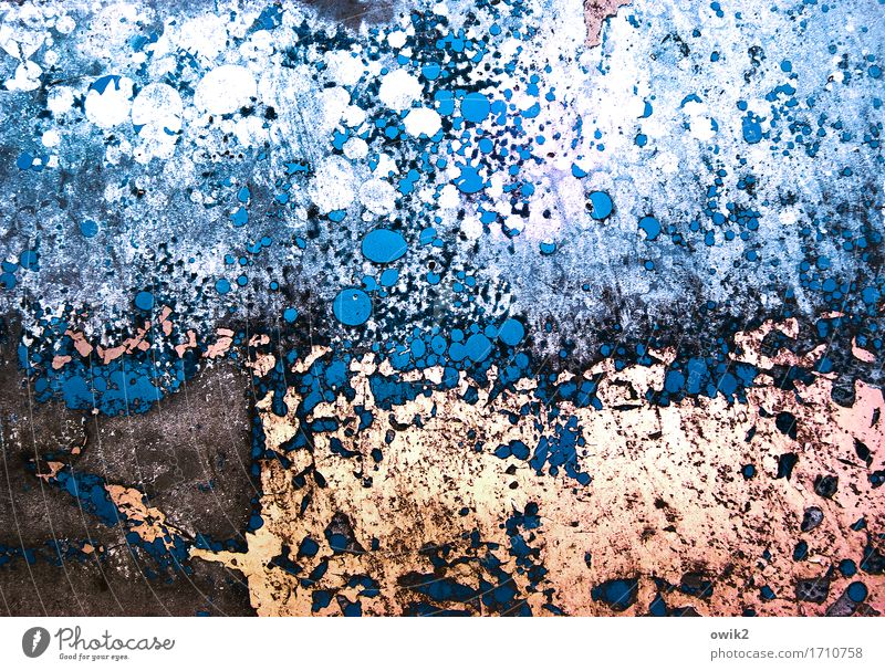 Blue Colour White Black Art Brown Orange Metal Crazy Transience Painting and drawing (object) Trashy Irritation Bizarre Destruction Work of art