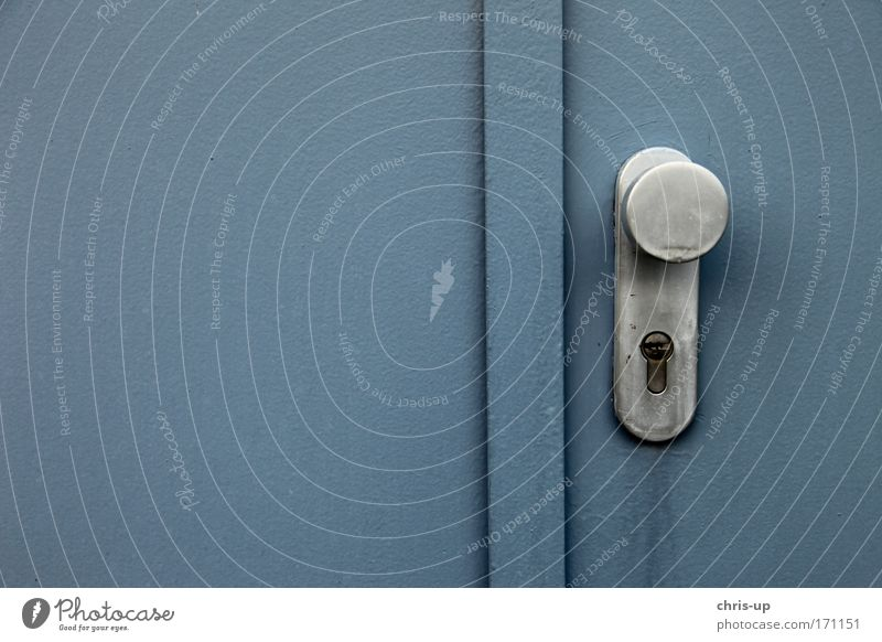 Door with handle Colour photo Subdued colour Exterior shot Close-up Deserted Copy Space left Copy Space right Copy Space top Copy Space bottom Copy Space middle