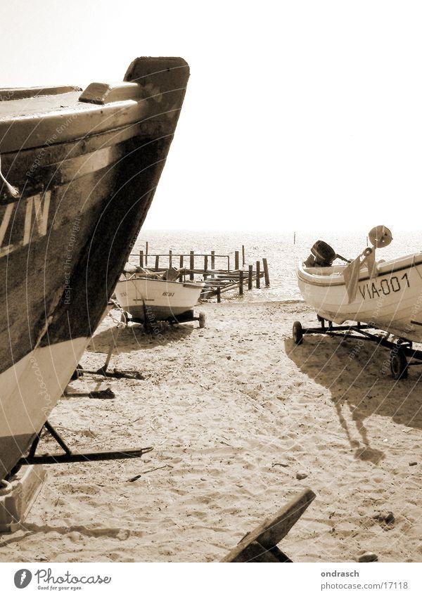 Old Sun Ocean Beach Watercraft Coast Wind Weather Driving Sailing Baltic Sea Fisherman
