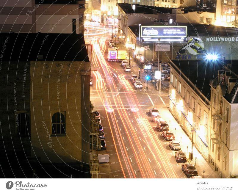Transport Distorted Night North America San Francisco