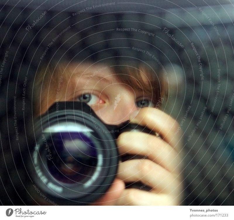 100 - Moments like this Day Blur Deep depth of field Looking Looking into the camera Style Design Leisure and hobbies Camera Human being Feminine Head Eyes Hand