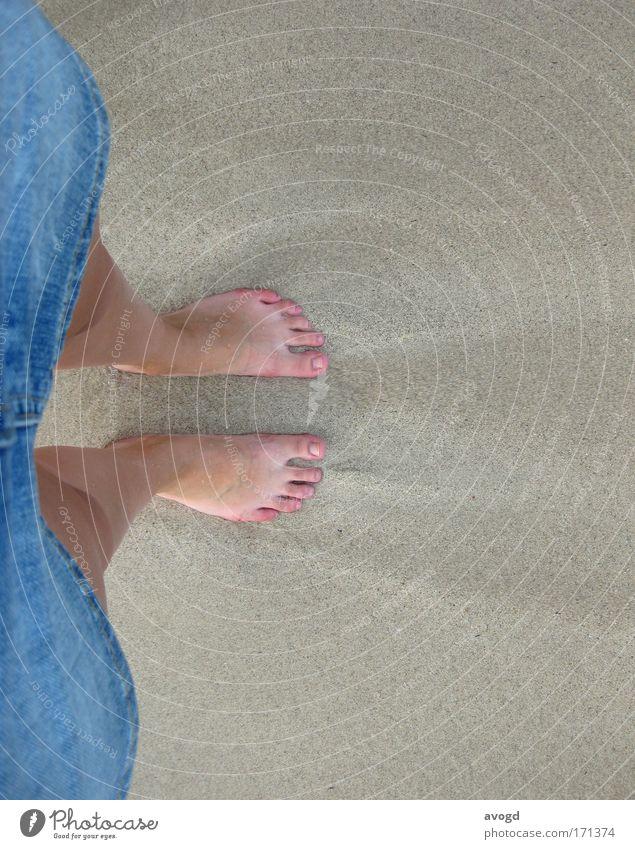 Woman Human being Ocean Beach Adults Feminine Sand Legs Feet Skin Free 18 - 30 years Hot Skirt Denim Toes