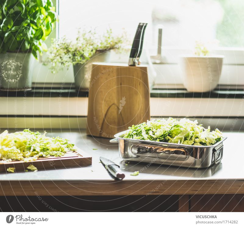 Healthy Eating Window Life Food photograph Lifestyle Style Design Living or residing Nutrition Table Kitchen Vegetable Organic produce Crockery Dinner