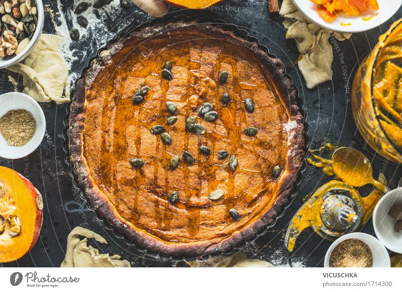 Traditional pumpkin cake Food Vegetable Cake Dessert Candy Nutrition Organic produce Crockery Pot Glass Cutlery Spoon Lifestyle Style Design Living or residing