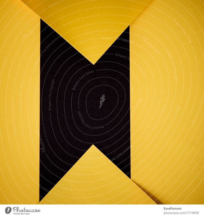 S\/G/\ Paper Sign Signs and labeling Line Arrow Stripe Yellow Black Design Colour Advertising Background picture Illustration Graph Graphic Minimalistic Simple