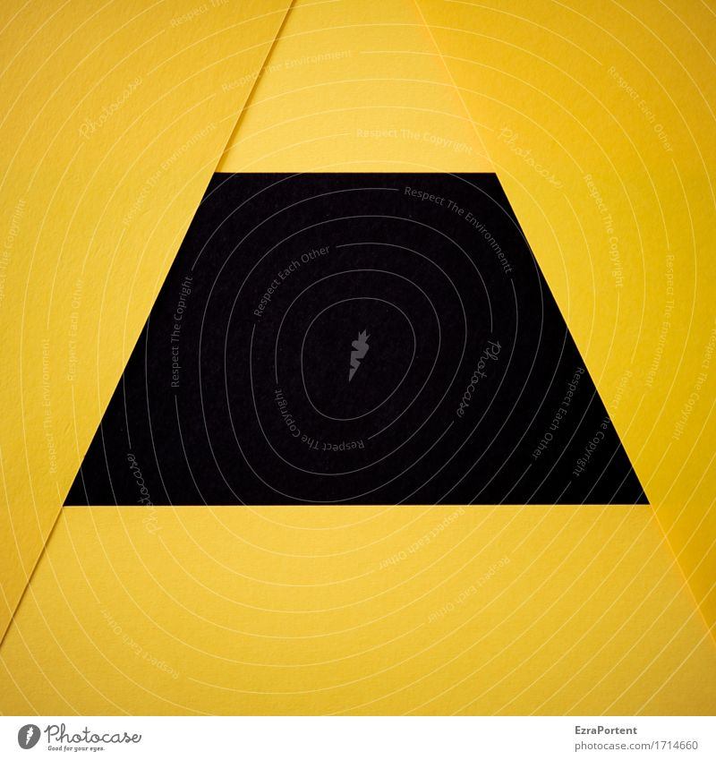 G/-s-\G Paper Sign Signs and labeling Line Stripe Sharp-edged Yellow Black Design Colour Advertising Background picture Geometry Illustration Graph Graphic