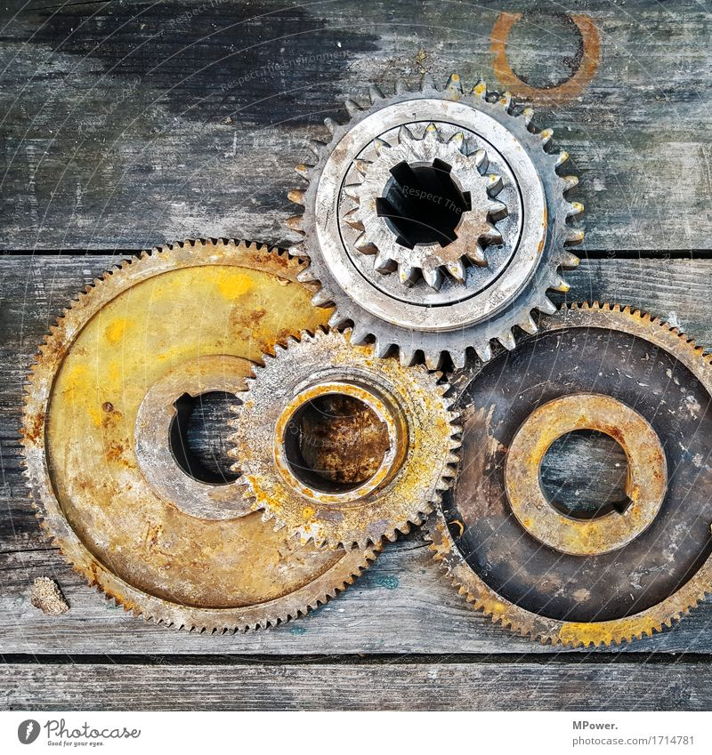gears for fears Old Rotate Gear unit Wood Industry Industrial Photography Machinery Engineering Part of machine Engines Rust Heavy industry Steel Serrated tooth