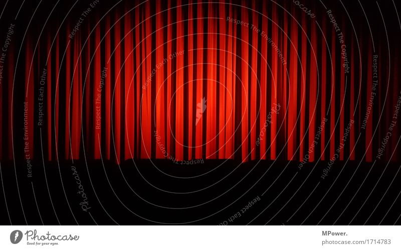 red curtain Art Concert Stage Opera Opera house Listening Cinema Movie hall Movie theater program Motion picture Red Drape Theatre Stage play Looking Culture