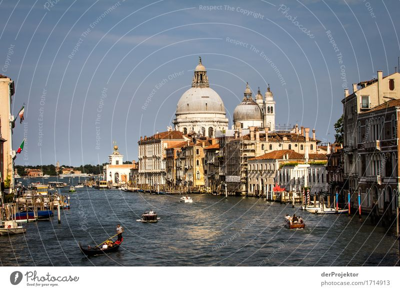 Grand Canal in Venice Vacation & Travel Tourism Trip Sightseeing City trip Cruise Summer vacation Tourist Attraction Landmark Monument Inland navigation